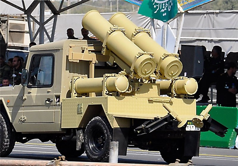 Iran Unveils New Rocket Launcher, Heavy Tactical Vehicle