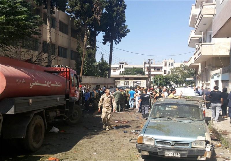 ارتفاع حصیلة التفجیر الارهابی المزدوج فی حمص الى 49 شهیداً ونحو 100 جریح معظمهم من الأطفال + صور