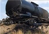 12 واگن قطار باری در مسیر بافق - بندرعباس از خط خارج شد