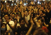 Pro-Democracy Protesters back in Hong Kong, No Violence