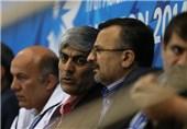 هاشمی و شهنازی از اردوی تیم ملی والیبال بازدید میکنند