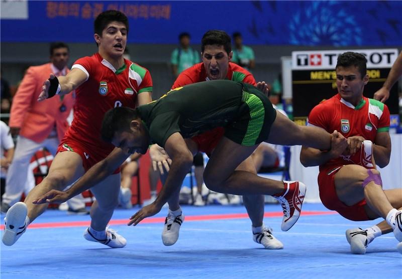 Iranian Men Wins Kabaddi Silver in Asiad