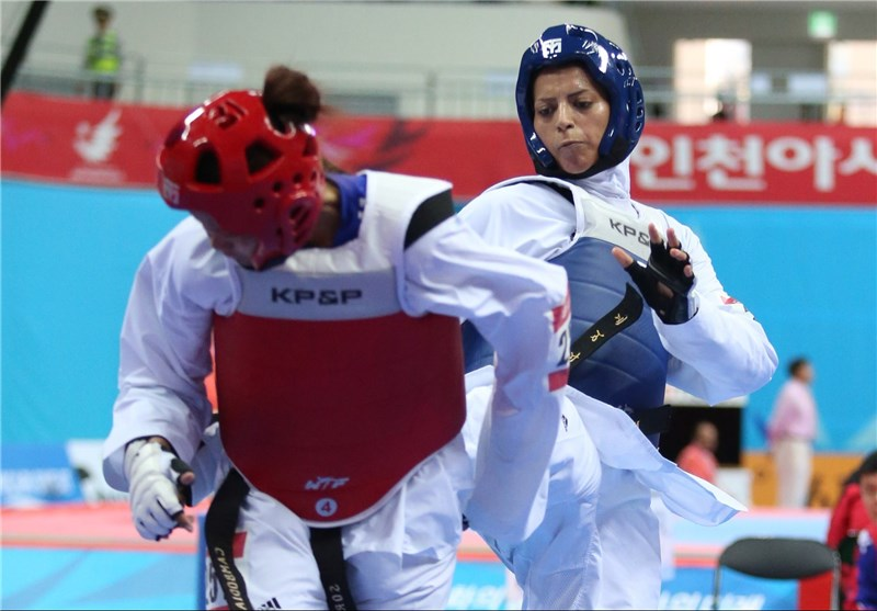 Taekwondo Fighter Khodabandeh Snatches Silver in Asian Games