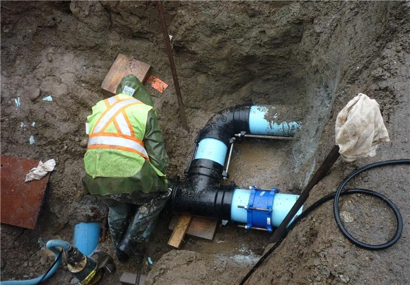 تعمیر خط لوله آب شرب شهر پلدختر زمانبر است