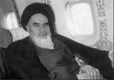 تصاویر ناب از لحظه ورود امام امت به تهران