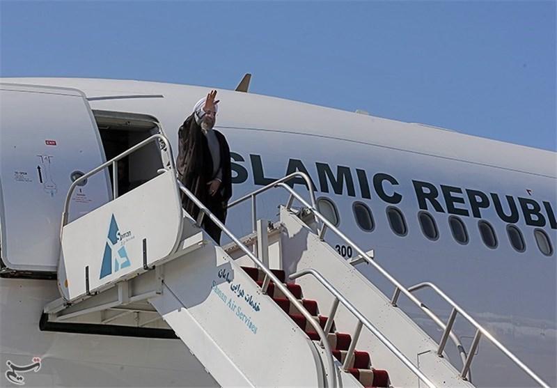 Iran's President Leaves for Turkmenistan
