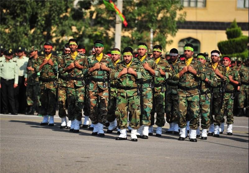 مراسم صبحگاه مشترک نیروهای مسلح چهارمحال وبختیاری برگزار شد