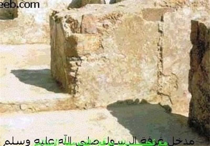معماری: الحکومة السعودیة شیدت دورات میاه فوق منزل الرسول(ص)+ فیدیو