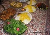 سفره غذای ایرانی