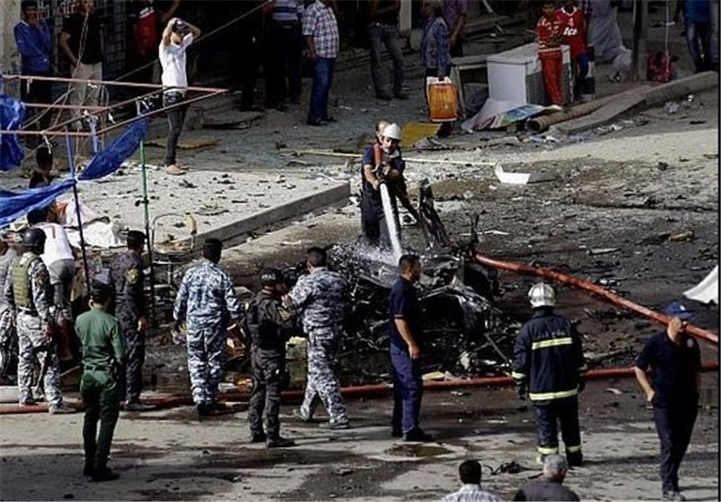 String of Deadly Blasts Rocks Iraqi Capital