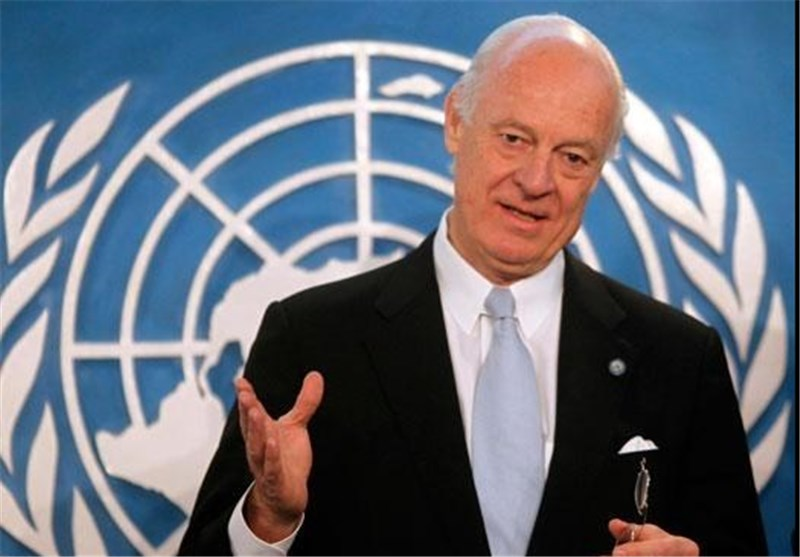 UN Envoy Proposes Syria 'Fighting Freeze'