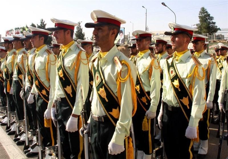 صبحگاه مشترک نیروی انتظامی