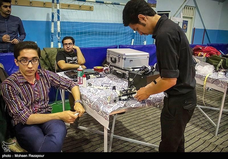 دهمین دوره مسابقات روباتیک کشوری در دانشگاه صنعتی نوشیروانی - بابل