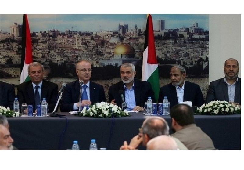 """حکومة """"التوافق الفلسطینیة"""" تنعقد لأول مرة فی غزة بحضور الحمدالله"""