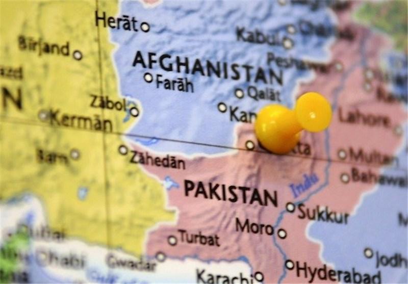 نقشه افغانستان و پاکستان
