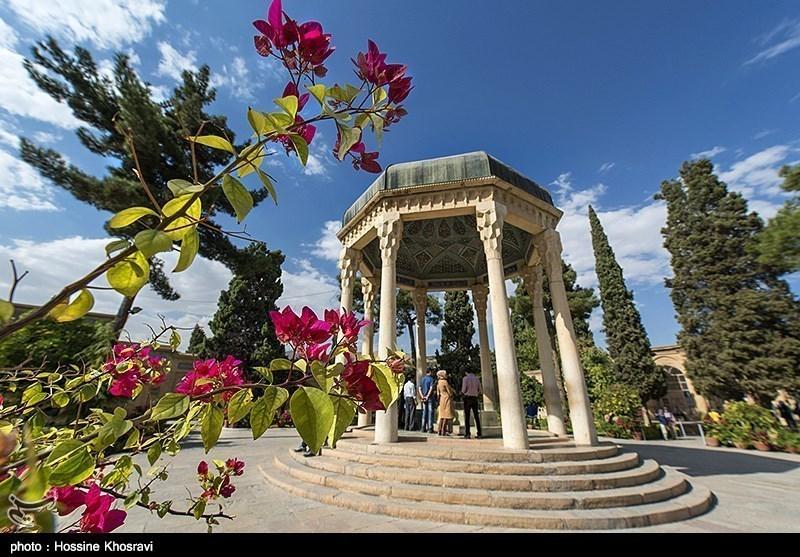 Iran's Beauties in Photos: Tomb of Hafez