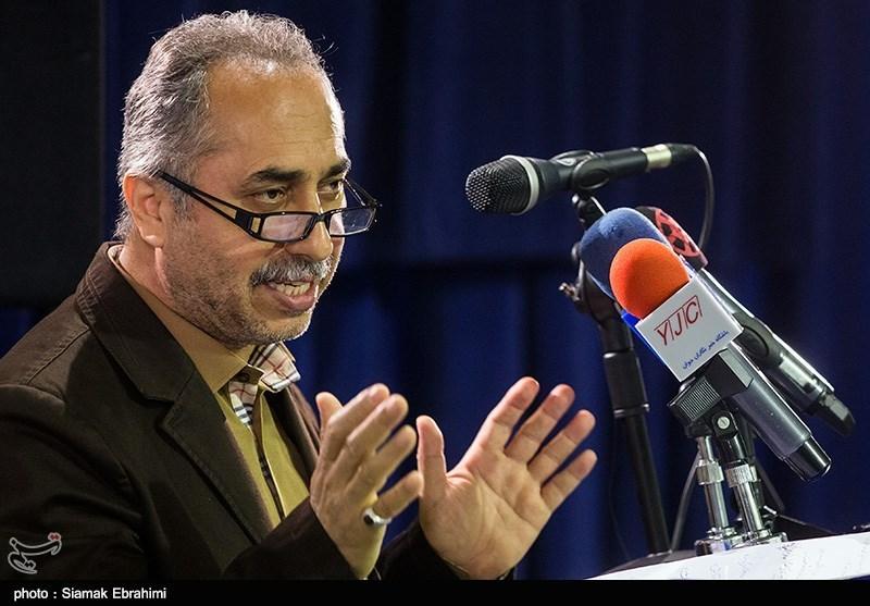 سخنرانی حسین مسافر آستانه مدیرعامل موسسه رسانههای تصویری