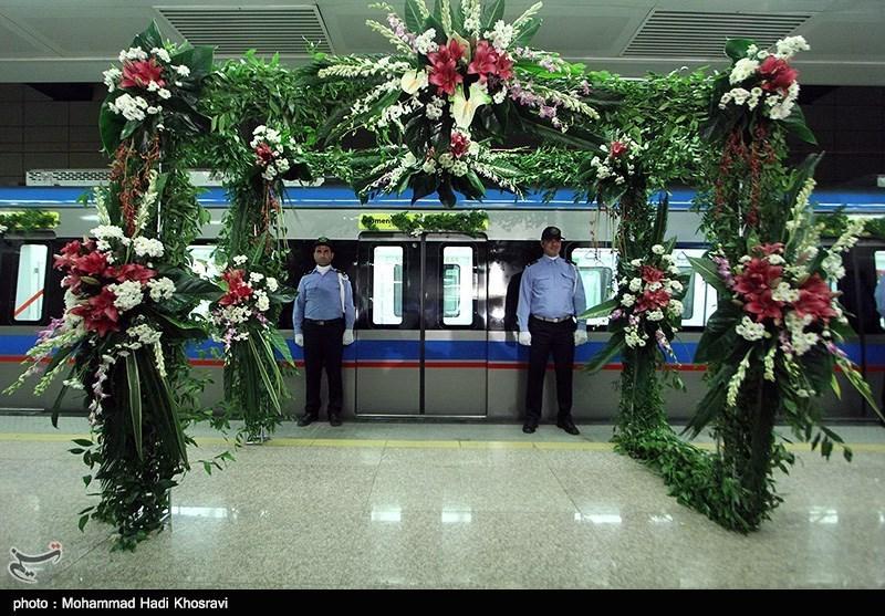 فاز دوم خط یک قطار شهری شیراز افتتاح شد