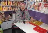 استقبال از اثر ایرانی برگزیده کتابخانه مونیخ در غرفه انتشارات شباویز نمایشگاه فرانکفورت