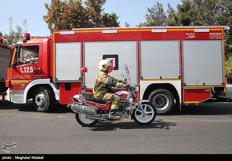 افتتاح همزمان 5 ایستگاه آتشنشانی در تهران