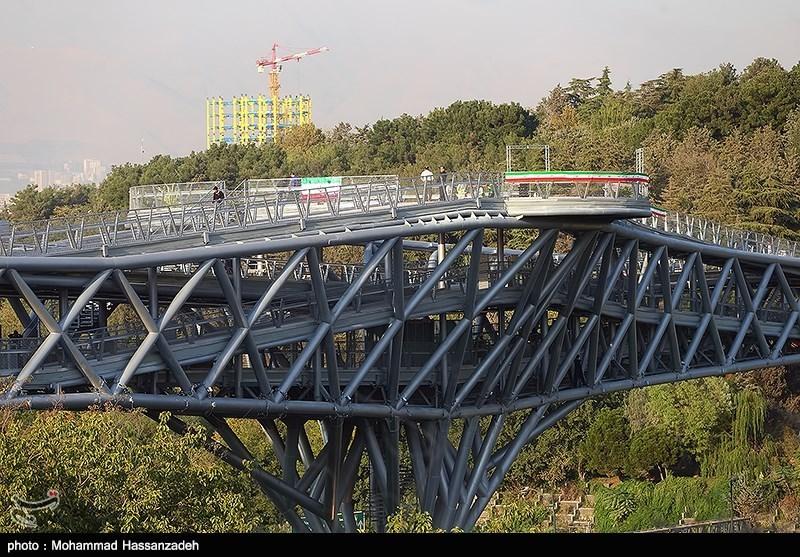 139307202051143503831454 پل طبیعت در تهران افتتاح شد + تصاویر مراسم