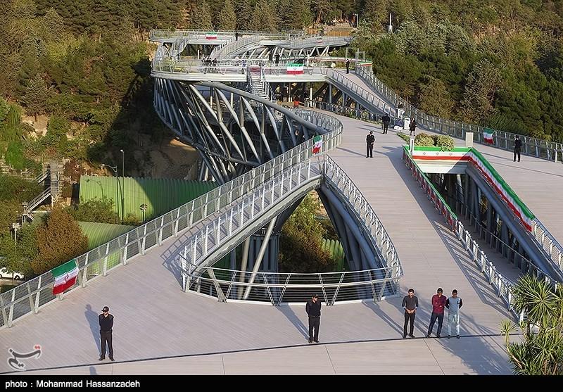 139307202051147713831454 پل طبیعت در تهران افتتاح شد + تصاویر مراسم