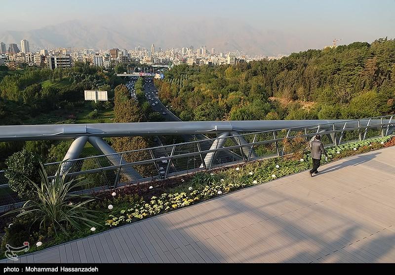 139307202051163313831454 پل طبیعت در تهران افتتاح شد + تصاویر مراسم