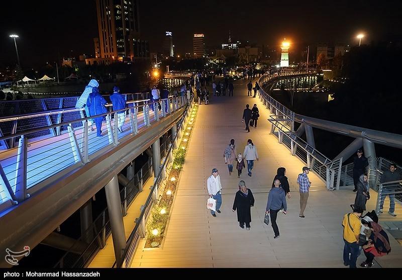 139307202051181413831454 پل طبیعت در تهران افتتاح شد + تصاویر مراسم