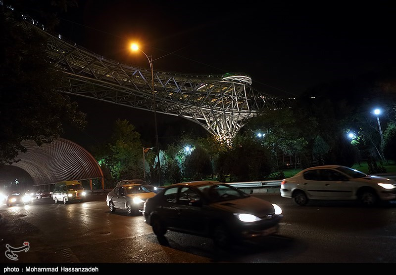 139307202051196853831454 پل طبیعت در تهران افتتاح شد + تصاویر مراسم