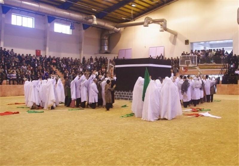 بازسازی واقعه غدیر در 5 شهرستان مازندران