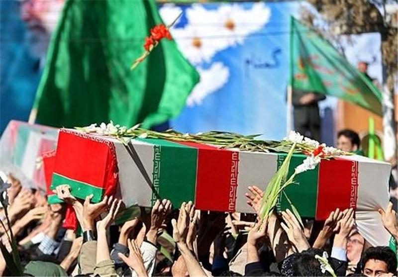 پیکر سردار تقوی با حضور فرماندهان عالیرتبه نظامی تشییع شد