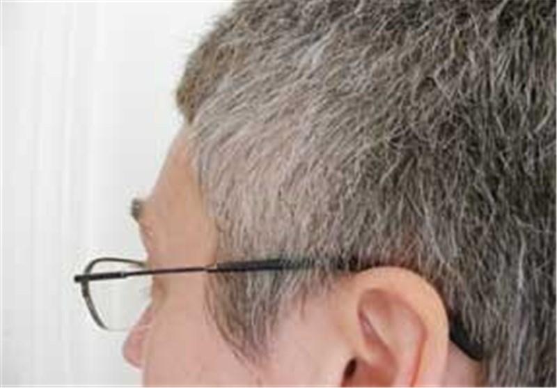 موی سفید عینک مرد تفکر مردان