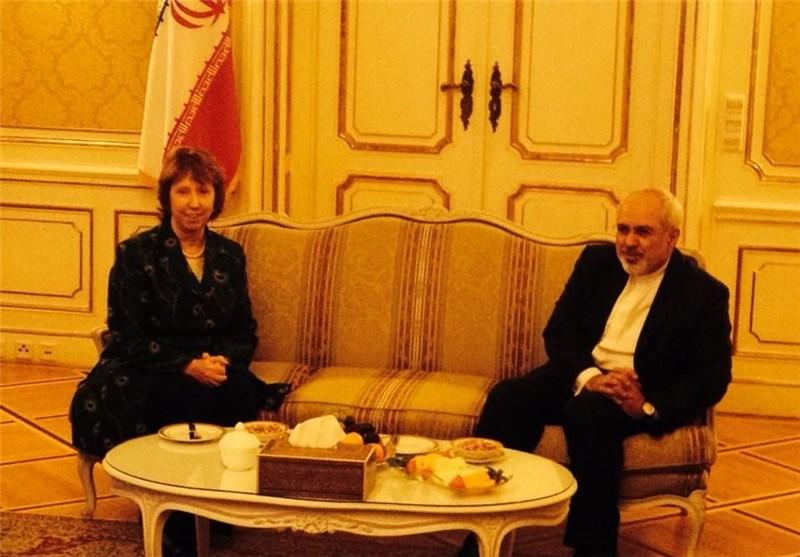 Iran's Zarif, EU's Ashton Hold Bilateral Meeting in Vienna
