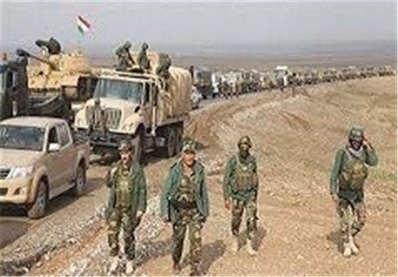 """وحدات حمایة الشعب الکردیة توقف تقدم """"داعش"""" باتجاه عین عرب شمال سوریا"""