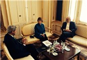 Iran's Zarif, EU's Ashton, US's Kerry Meet in Vienna