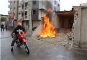 مانور کنترل ترافیک شهری در زمان بحران در زنجان