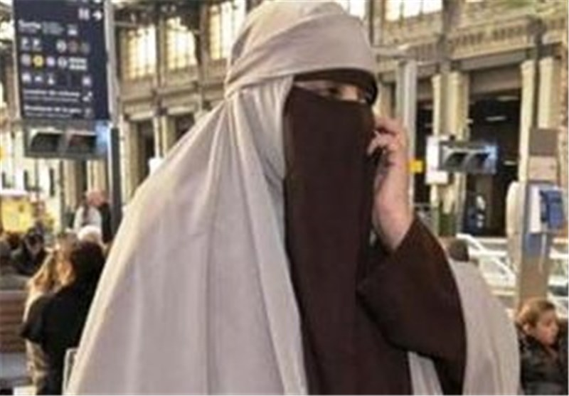 برلمانیة أوروبیة تعتدی على مسلمة منقبة بمحطة قطارات فی باریس