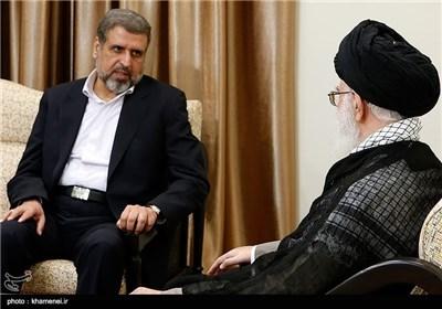 Hamas's Ramadan Abdullah Meets Supreme Leader