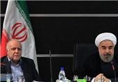 درخواست روحانی از زنگنه: پروژههای نفتی هرچه سریعتر به مرحله بهرهبرداری برسد