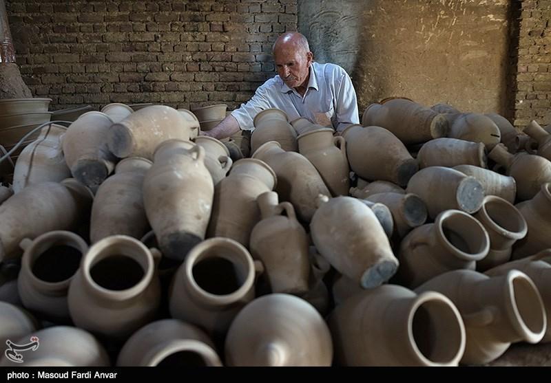 Pottery Workshop in Iran's Northwestern City of Tabriz