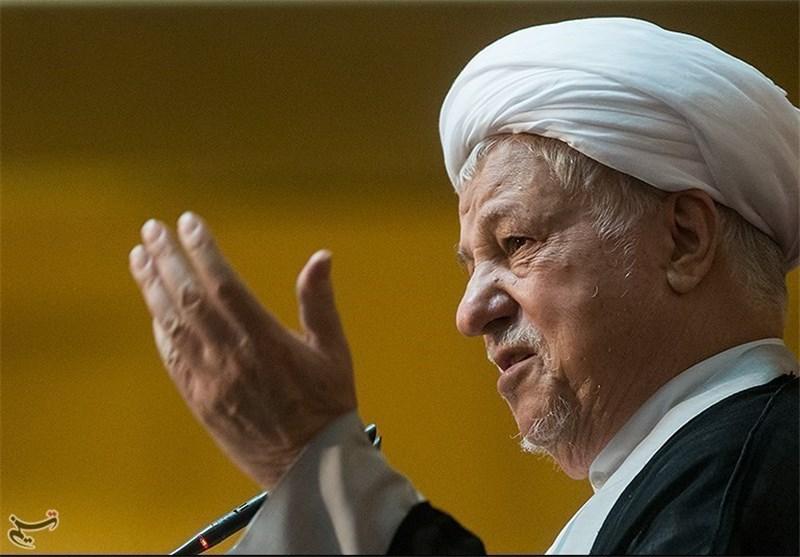انتقاد هاشمی رفسنجانی از اختلافافکنی برخی حاکمان اسلامی و کاهش قیمت نفت