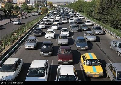 ترافیک صبحگاهی در تهران