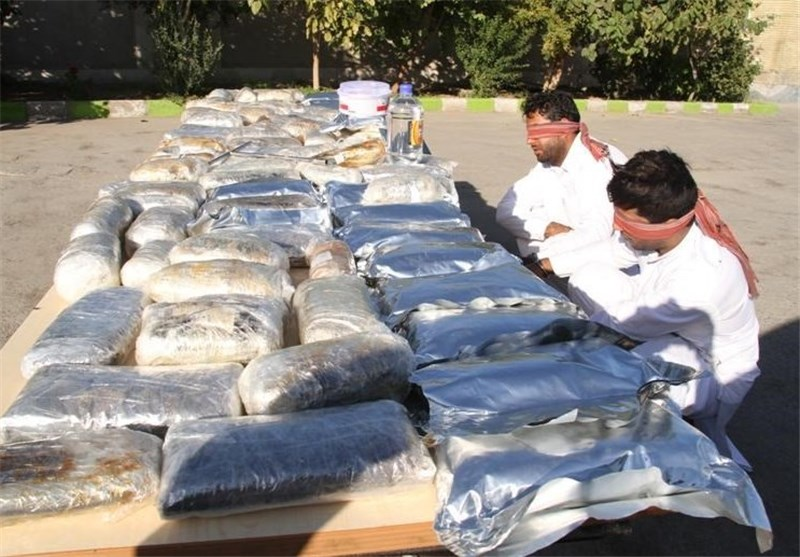 Police Seize over 1.4 Tons of Illicit Drugs, Arms in Southeastern Iran