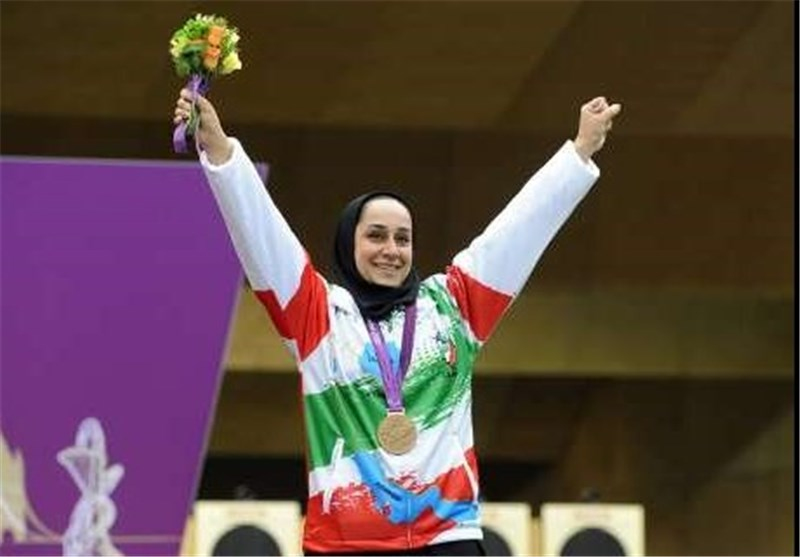 Iran's Javanmardi Wins Gold at Para Shooting World Cup