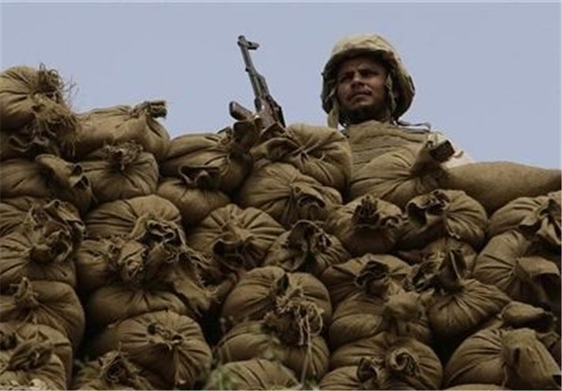 نظامیان عربستان در مرز با یمن