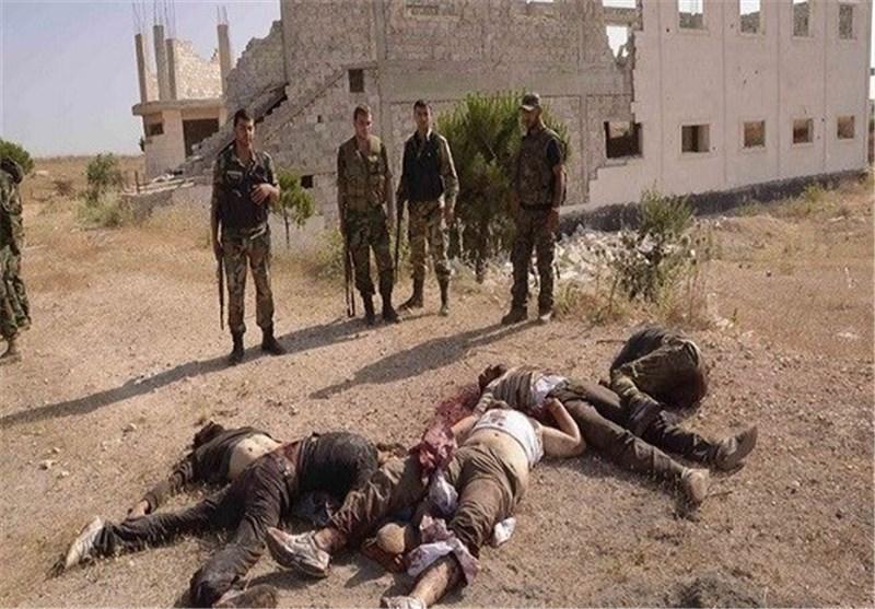 هلاک 16 مسلحاً فی تفجیر عبوة ناسفة فی درعا جنوب سوریا