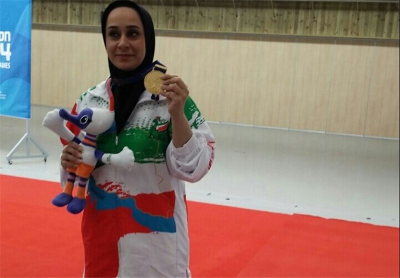 Sareh Javanmardi Named Iran's Flagbearer in Closing Ceremony