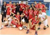 تیم والیبال جوانان ایران برای پنجمین بار قهرمان آسیا شد