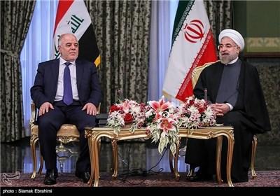 Iranian President Meets Iraq's PM in Tehran