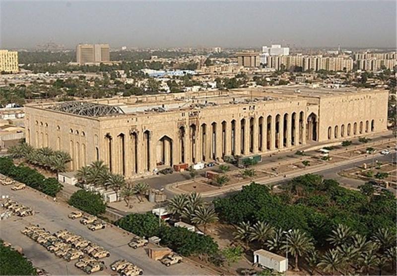 حمله موشکی به سفارت آمریکا در بغداد همزمان با دیدار ترامپ